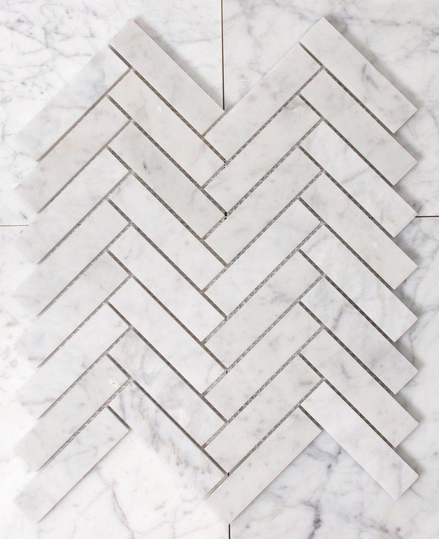 Carrara Honed Herringbone Vm497 Tile Amp Stone Gallery