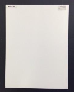 Matt White Plain Wall 30×40