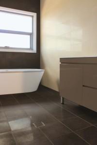 Olive Ivory Bathroom