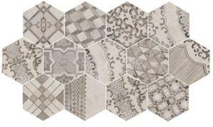 Hex Clays Décor - Cotton  Lava - 210 x 182