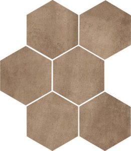 DTI Hex Clays Earth R9 - 210 x 182