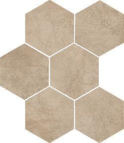 DTI Hex Clays Sand R9 - 210 x 182