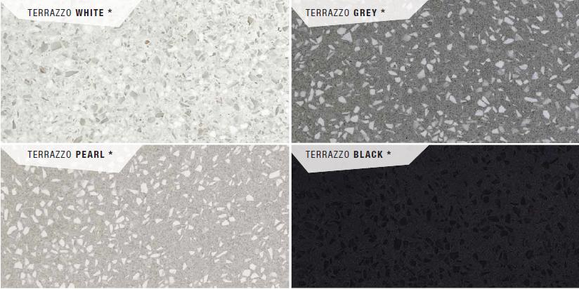 Marvel Gems Terrazzo GREY Polished