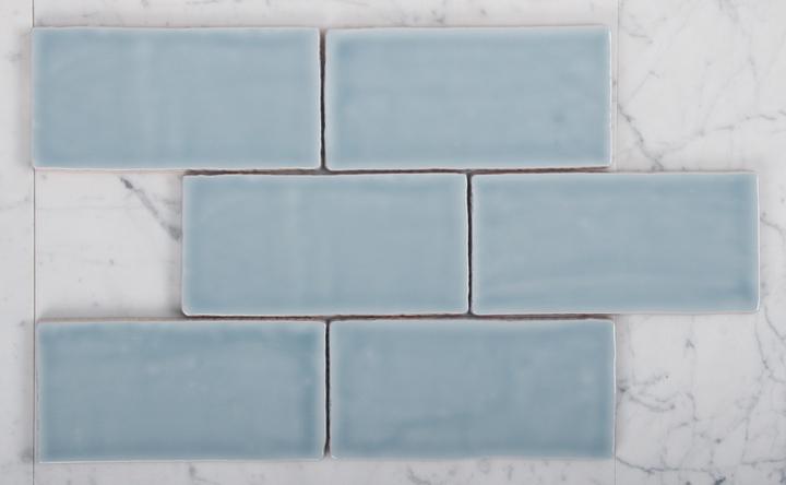 Vm 963 Sky Blue Handmade Spanish Subway Tile Amp Stone