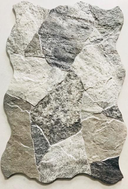 Black Ceramic Tile >> Sella GREY – Crazy Pave Look – Tile & Stone Gallery